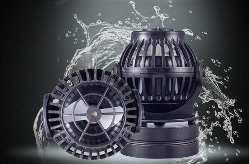 JEBAO siać serii nowy Fish Tank fala sinusoidalna Mini pompa konwersji częstotliwości Ultra cichy świeżej wody morskiej Surfing akwarium w Pompy wody od Dom i ogród na  Grupa 2