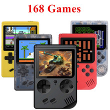 Retro Portable Mini Handheld Game Console 8-Bit 2.8 Inch Color LCD Kids Color Game Player Built-in 168 games