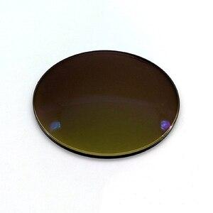 Image 5 - 1,56 fahrer Gelb Gläser LensPhotochromic Anti blau licht Myopie Astigmatismus Optische Verordnung Harz Objektiv nachtsicht