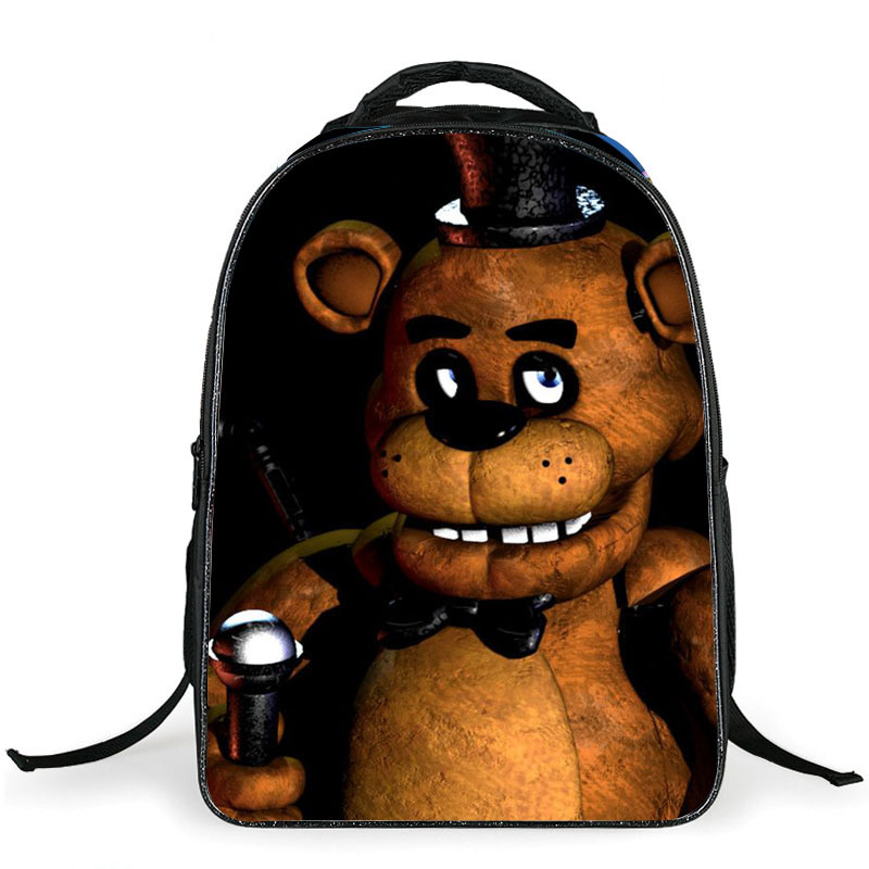 Anime Five Nights At Freddy Backpack For Teenagers Boys Girls School Bags Printing Cartoon Bags Children School Backpacks