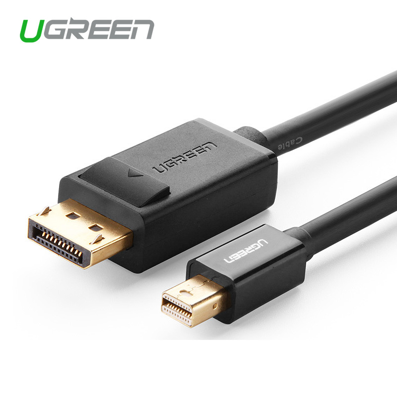 Ugreenhigh calidad Mini puerto de pantalla a pantalla de Cable de Puerto Thunderbolt a DP HD Cabo para Macbook Air de Premimu