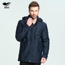 HAI YU CHENG Jacket Windbreaker Waterproof Windproof Winter Jacket Mens 2017 Fall Winter Long Trench Coat Male Plus Size