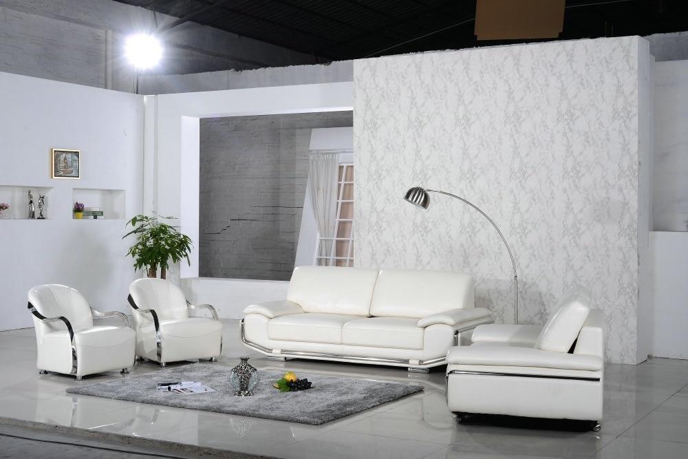 Leather Sofa Set Home Furniture Design Leather Living Room Set 0411