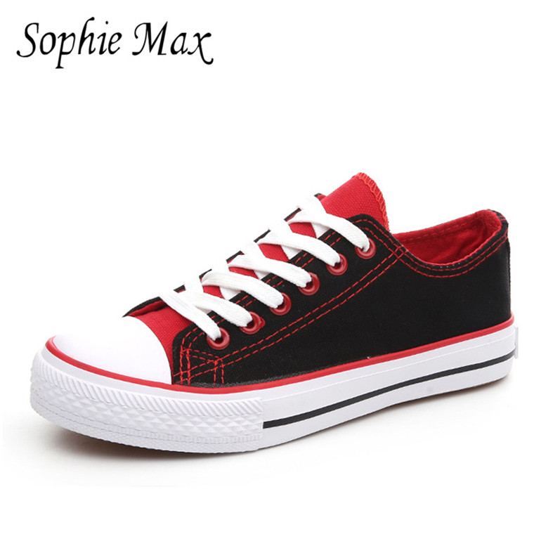2016 autumn sophie max new arrival classic reminiscence women canvas shoes 870023 image
