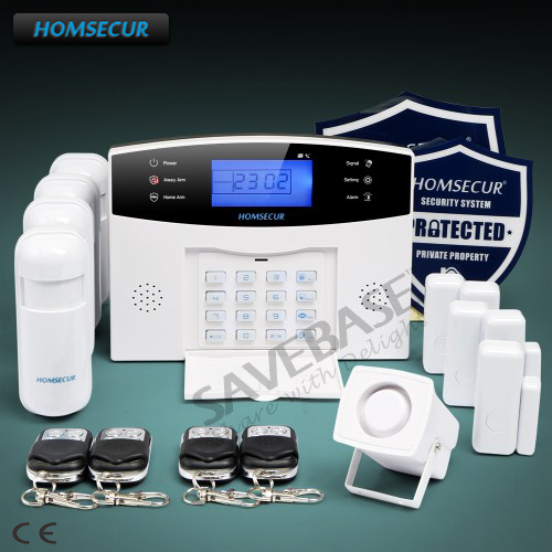 HOMSECUR Wireless GSM 850/900/1800/1900 Burglar Alarm System+PIR+5*Door Sensor бра mw light ариадна 16 450024501