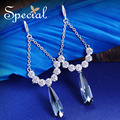 Special New Fashion Aistria Crystal Dangle Earrings Trendy Rhinestones Ear-piercing Jewelry Gifts for Women S1614E