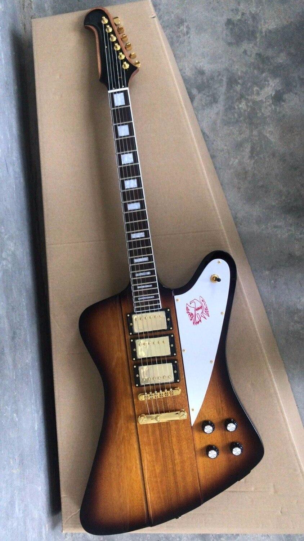 Gros Guitare Nouvelle Arrivée G Cnbald Firebird Guitare Électrique 3 Pick ups Dans Sunburst 180610