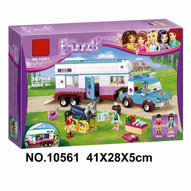 387pcs Girl Friend Series Excursion Compatibie Legoings Building Blocks Toy Kit DIY Educational Children Christmas Birthday Gift
