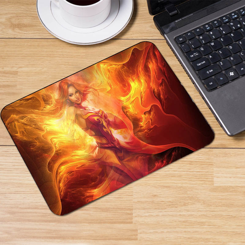 Mairuige Hot Game MousePads Dota2 Lina Nevermore Heros Pattern Mousepad Laptop Computer  ...