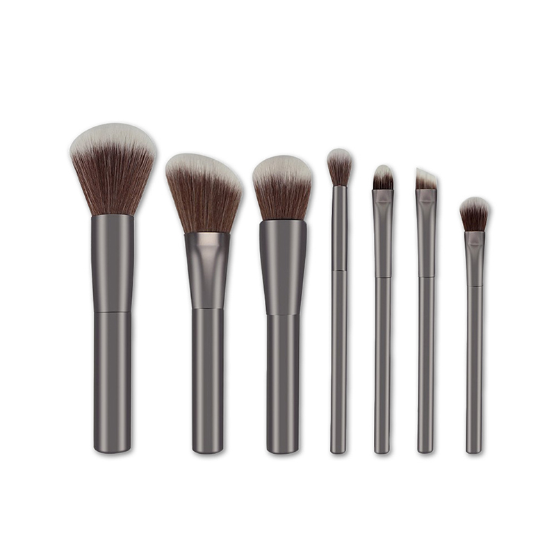 7 Pcs Professional Makeup Brushes Set Tools Foundation Power Eye Shadow Eyebrow Make Up Brush Cosmetic Kits base facial new style professional women lady facial makeup tools cream foundation soft type cosmetic make up brush easy carry