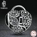 925 sterling silver charm fit pandora original pulsera calado flor floral candado corazón perlas amp joyería s122