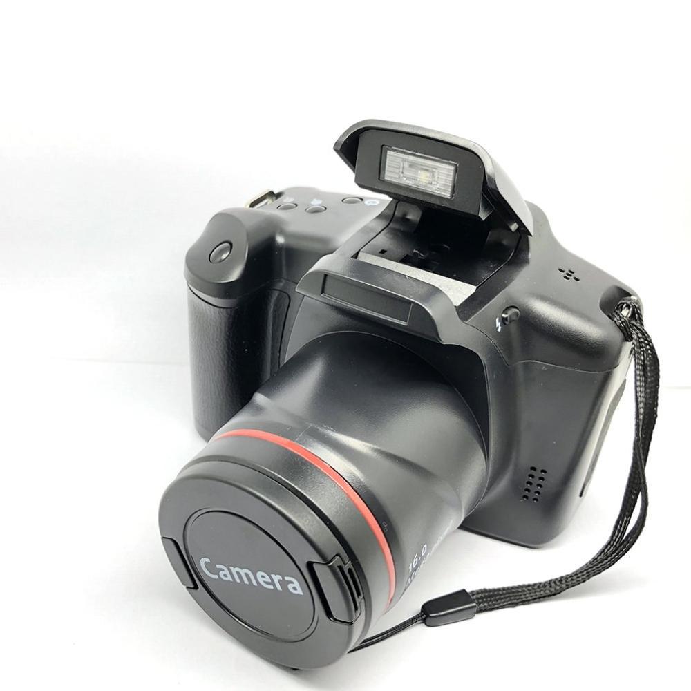 Câmera Digital SLR XJ05 4X Zoom Digital de 2.8 polegada Tela 3mp CMOS Max 12MP Resolução HD 720 P TV OUT suporte de Vídeo do PC