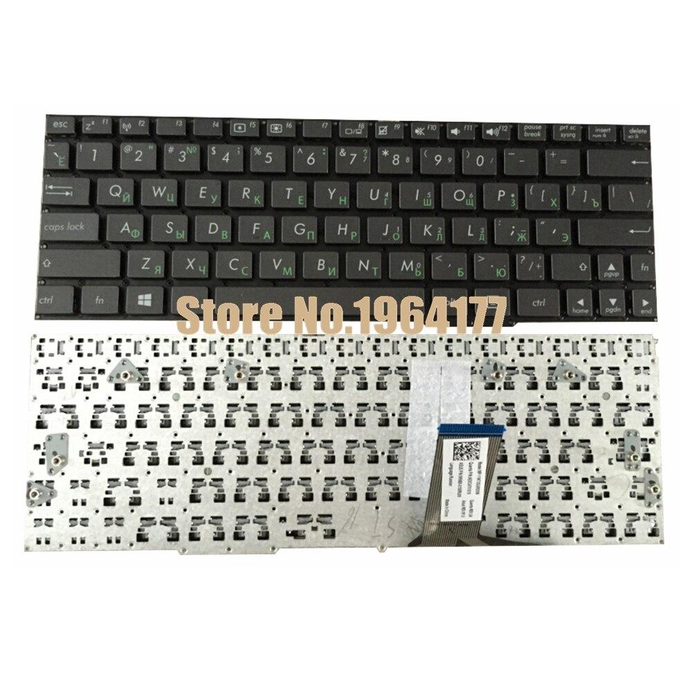 Russian Laptop Keyboard for ASUS Transformer Book T100 T100A T100C T100T T100TA T100TAF T100TAL T100TAM T100TAR RU Black New