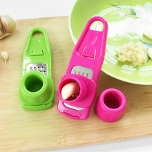 Useful Multifunctional Ginger Garlic Press Grinding Grater Planer Slicer Mini Cutter Cooking Gadgets Tools Kitchen Accessories