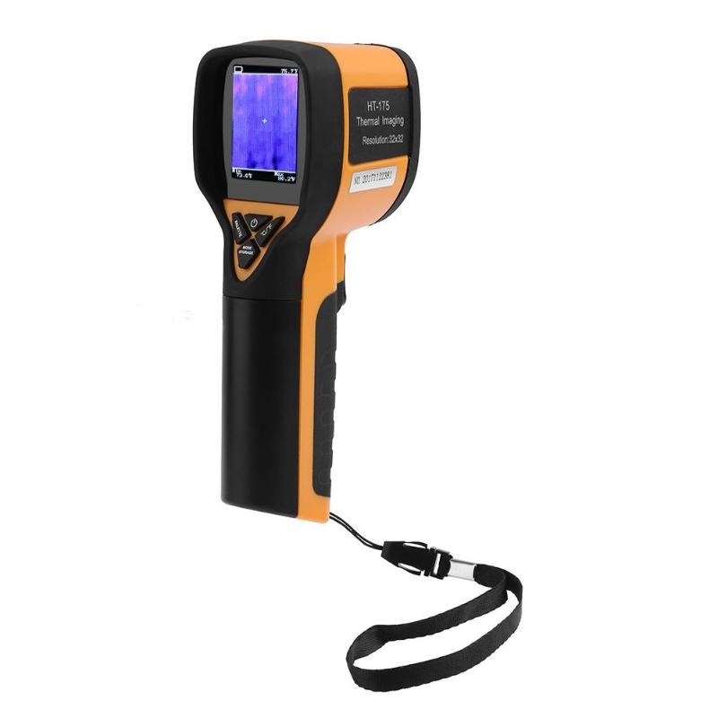 HT-175 Portable Handheld Infrared IR Thermal Imaging Digital Camera Tool E5M1 portable handheld hd thermal imaging camera infrared imaging sensor visible light camera built in chargeable battery