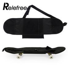 Relefree 81*21 см прочный удобный портативный Скейтбординг чехол для скейтборда Лонгборд рюкзак сумка для переноски