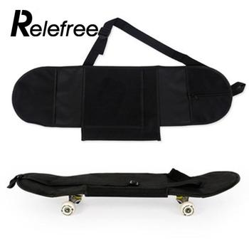Relefree 81*21cm Durable Convenient Portable Skateboarding Skateboard Cover Longboard Carrying Backpack Carry Bag