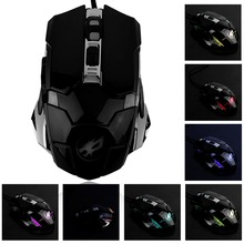 Q5 Wired Gaming Mouse 6 Buttons 2400DPI Optical Professional Mouse Gamer Computer Mice For Laptops Desktops With Backlight