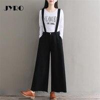 JYRO Brand Women S Pants Spring New Elastic Waist Loose Large Size Hair Side Denim Overalls