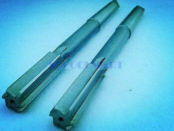 1 adet HSS H7 makineleri konik sap düz flüt mandren raybaları 30mm