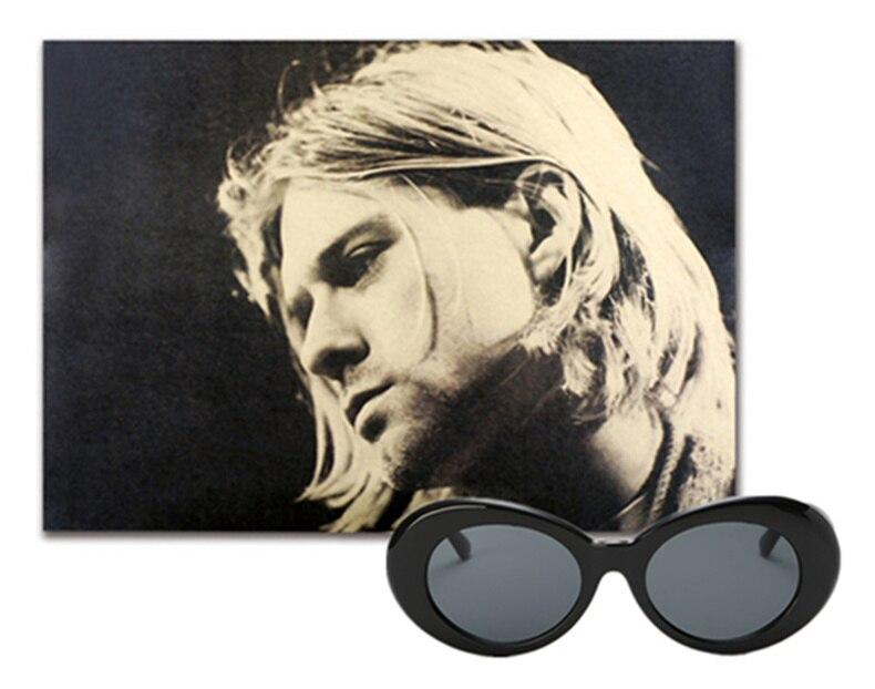 edd11f4b0f Kaleidoscope Glasses Clout Goggles Sunglasses Kurt Cobain Eyeglasses Women  Brand Designer Sunglass Men Retro Round Sun ...