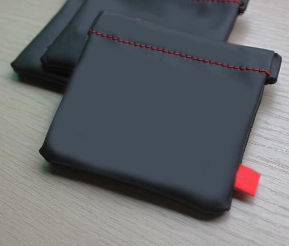 Oortelefoon tas PU lederen hoofdtelefoon draagtas Hoofdtelefoon opbergtas Mini-bescherming kabel headset Oordopjes Munt kleine tas