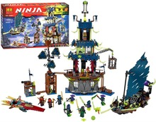 Bela Ninjagoes City of Stiix Building Block Kai Jay Nya Morro Minifigures Kids Educational Toys Legoes 70732 Compatible