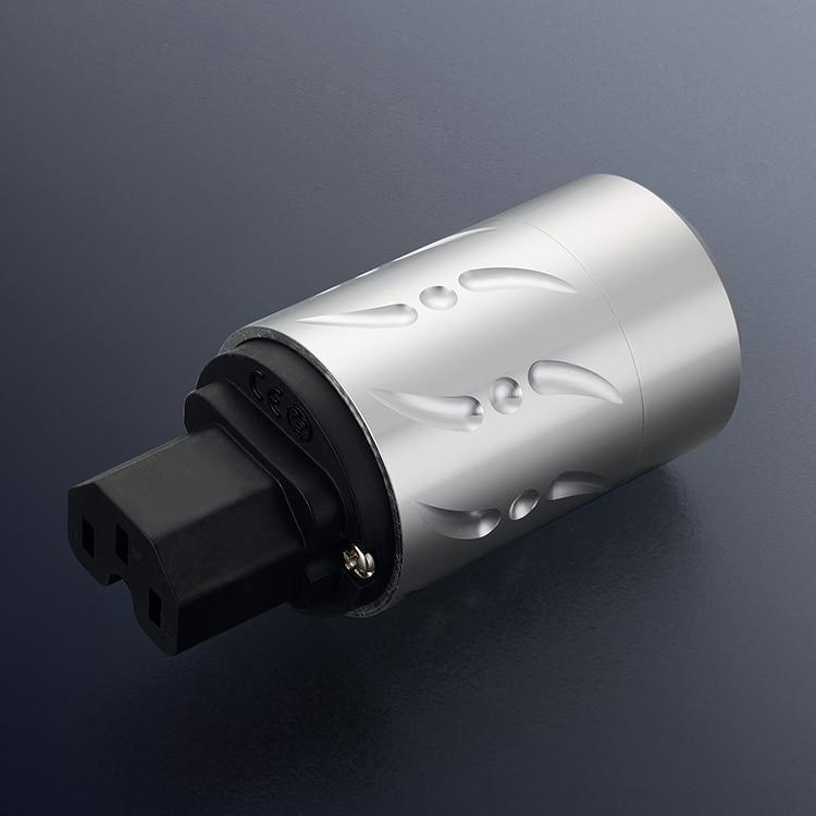 Paire Viborg VE502G + VF502G 100% pur cuivre EU Euro alimentation connecteur Schuko prise IEC femelle prise hifi - 2