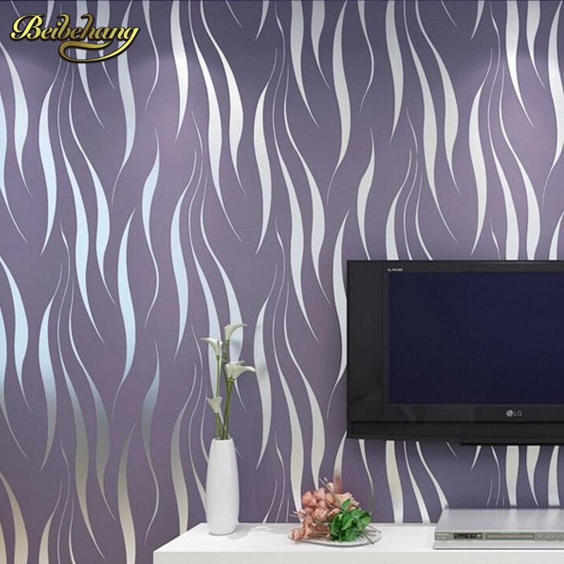 beibehang modern luxury 3D wallpaper stripe wall paper papel de parede damask wall paper for living room bedroom TV background european luxury reliefs 3d wallpaper black damask floral wall paper living room bedroom wallpaper for walls 3d papel de parede