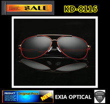 AR Blue Coatings Sunglasses Polarized for Men Top Quality Dsign EXIA OPTICAL KD-8116 Series