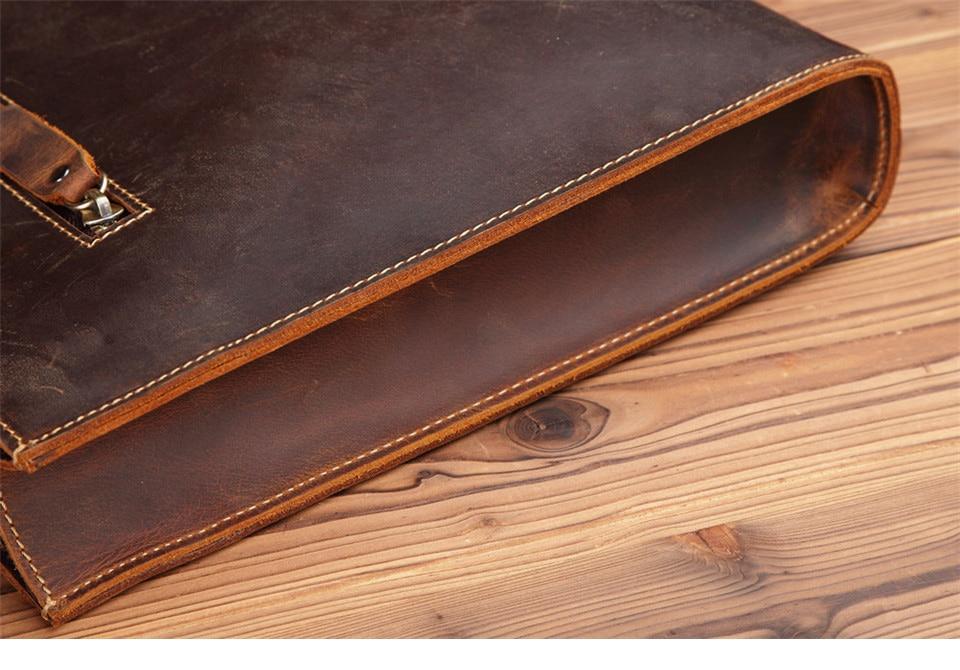 HTB1Sl0qEv5TBuNjSspmq6yDRVXaH New Genuine Leather Men's Handbags Retro Crazy Horse Leather Men Tote Bag Shoulder Messenger Business Men Briefcase Laptop Bags