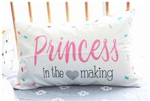 Kids Pink Princess Pillowcase 100 Cotton 48x74cm Lovely Pillow Cases No Inner Nordic Style Girls Gift