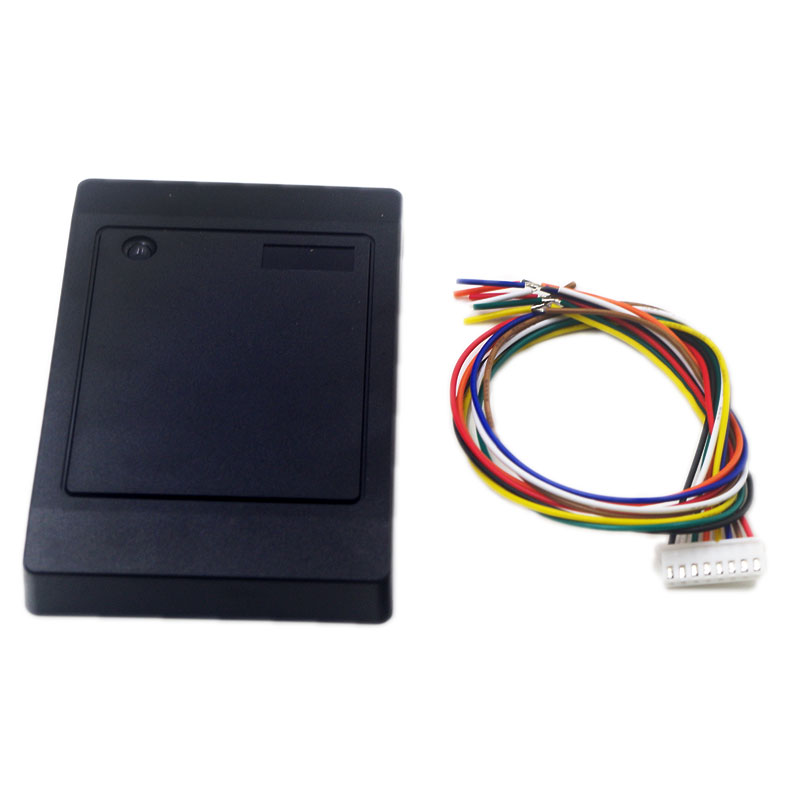 Rfid reader dual Frequency 125Khz EM card reader Wiegand Interface Weigand 26 Smart Proximity Readers rfid writer duplicator key free shipping waterproof proxi rfid reader 125khz smart card reader rfid reader rfid duplicator duplicator key