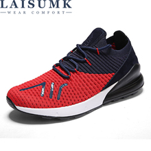 LAISUMK 2019 Men Sneakers,Unisex Lover Shoes Summer Casual Shoe Breathable Network Man Slip On Flats For