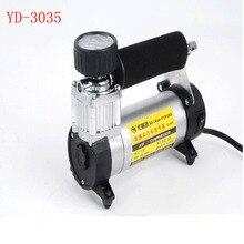 2PC YD-3035 Portable Super Flow 12V 140PSI Auto Tire Inflator / Car Air Pump Car Pumps Car Air Compressor 12V