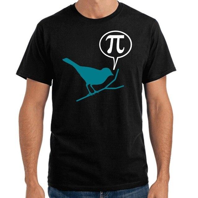 Hot 2018 Summer Men'S T Shirt Fashion Pi Bird | Bird | Sparrow Sparrow | Sayings | Party | Fun | S-XXXl Tee Shirt