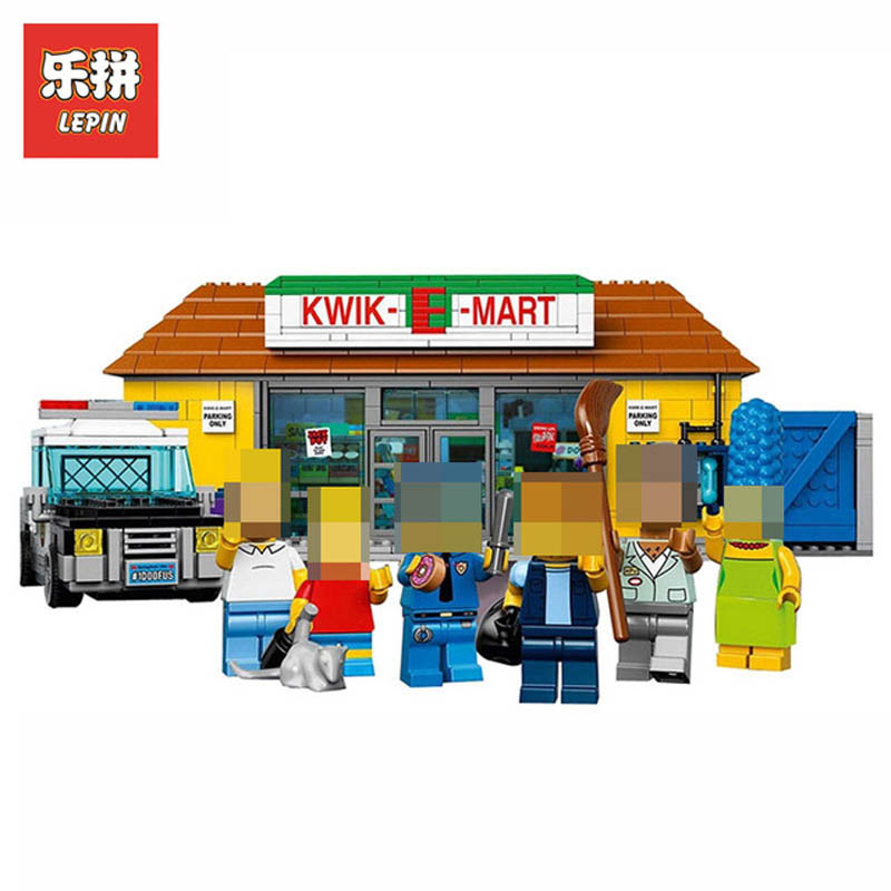 Model Building Lovely Legoe City Street View Series Hsh6407 Mini Fast Mart Shop Model Building Blocks Bricks Toys For Children Compatible With Legoing Special Buy