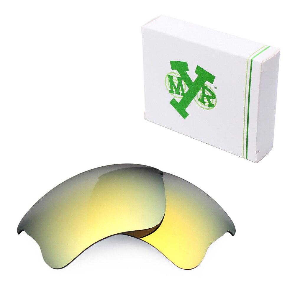 29855c5c72 Mryok POLARIZED Replacement Lenses for Oakley Flak Jacket XLJ Sunglasses  24K Gold