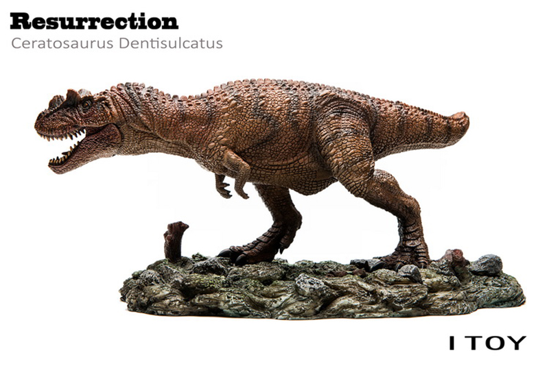 1/35 dinosaure PVC Bereserker Rex Figure-Berserker Raptor Indominus Rex170035 170011 Dragon cornu modèle Animal
