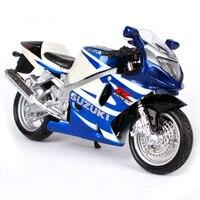 Maisto 1:18スズキgsx r750オートバイバイク