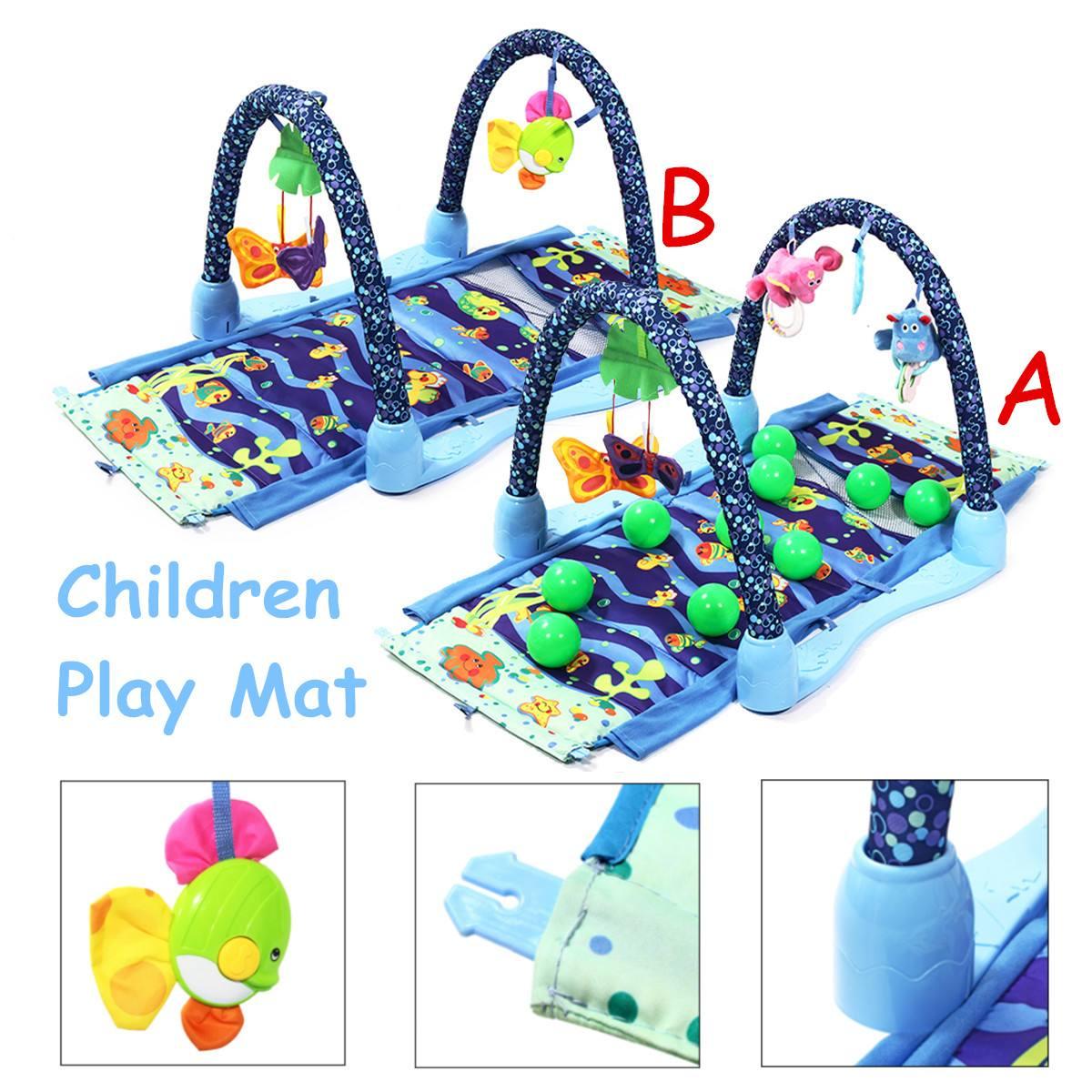 Grand bébé tapis de jeu enfants tapis jouets éducatifs Puzzle tapis bande dessinée Animal tapis de jeu bébé Gym ramper activité tapis couverture
