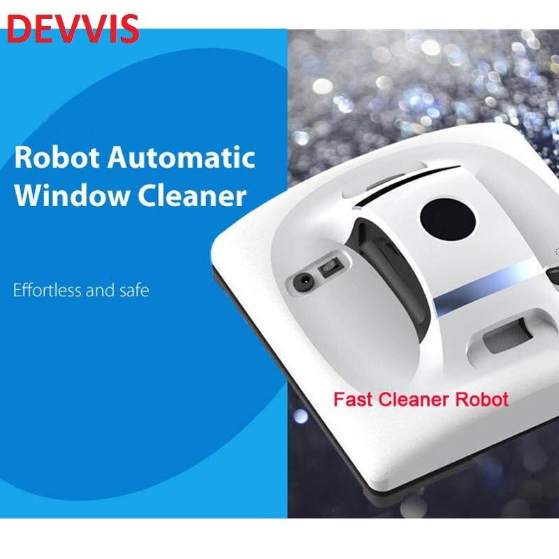 Vidro Mini Robot Cleaner com tamanho Único e Inteligente sistema de Movimento para aumentar a velocidade e cobertura janela robô limpa