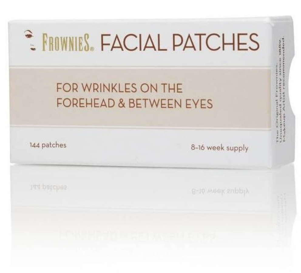 Original FROWNIES Facial Patches For Wrinkles Forehead & Between Eyebrows 144 Patches Free Shipping