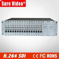 Kanäle H.264 SDI eingang Video Encoder für IPTV  live-Stream Broadcast durch RTMP HTTP RTSP für Media Server HDMi v Broadcast
