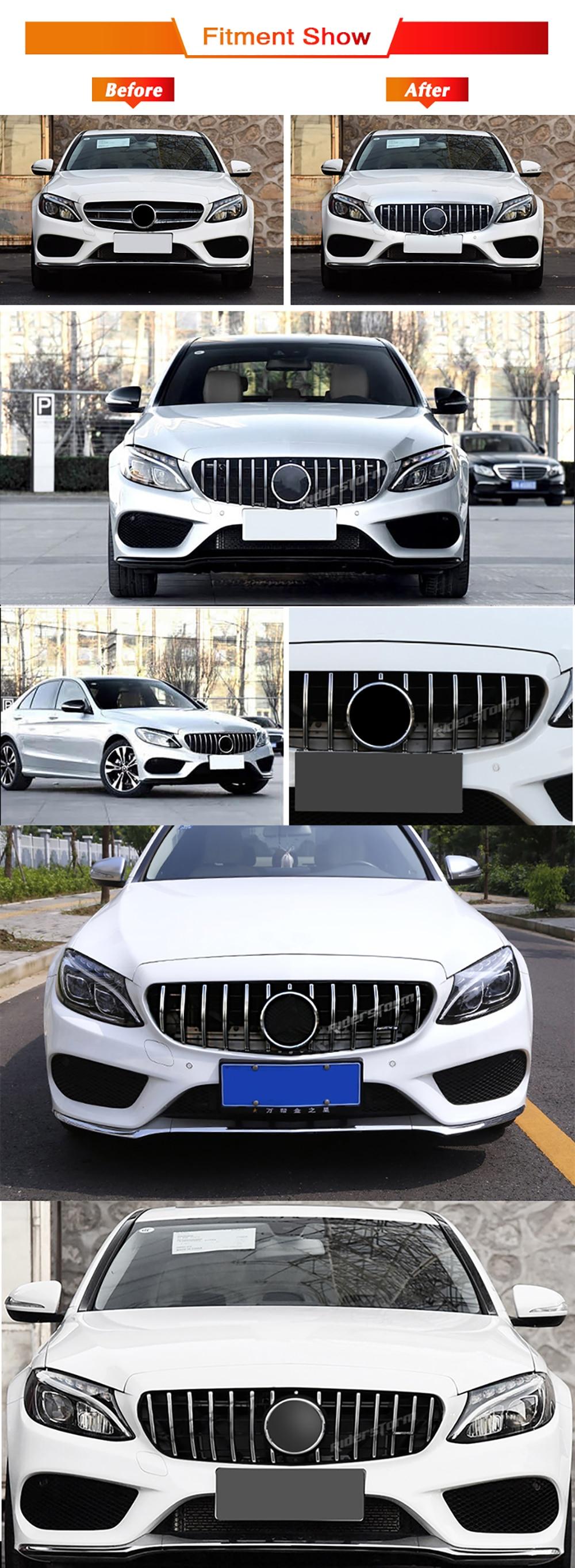 Grade Dianteira para Mercedes Benz AMG W205