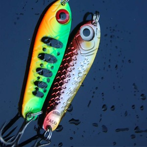 Image 3 - Hot sale 4Pcs High Quality Metal Spoon Fishing Lure Seawater Fishing Bait Jigging Lures Leurre Peche Jig Wobbler 65mm 21g