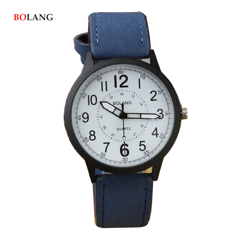 BOLANG Casual Army Wrist Watches for Men Brand Blue Fabric Watchband Leather Quartz Wristwatch 40mm Relogio bayan kol saatleri adjustable wrist and forearm splint external fixed support wrist brace fixing orthosisfit for men and women