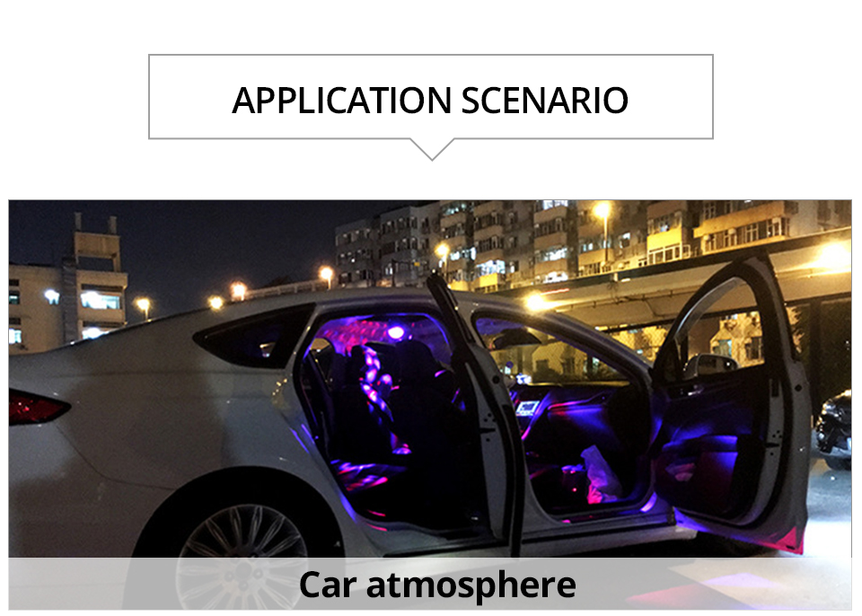 Car-mounted stage lights Adsorbable (13)