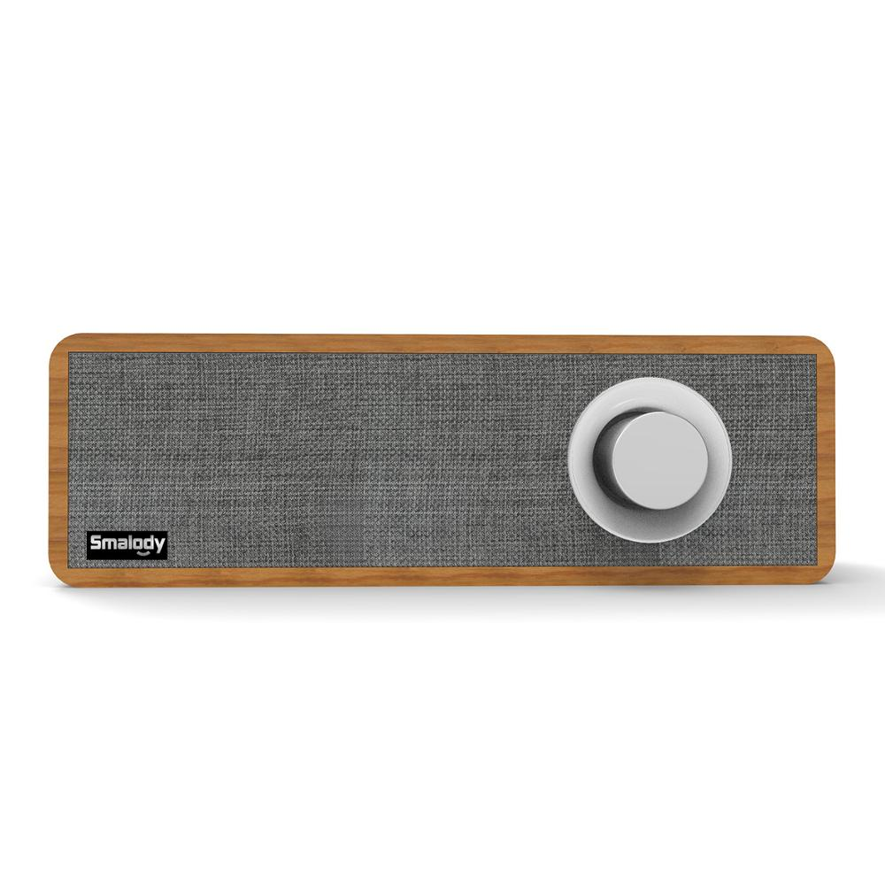 Retro Wooden Bluetooth Speaker Mini Portable Outdoor Audio Wireless Bass Stereo Music Player Surround Speakers for Mobile Phone