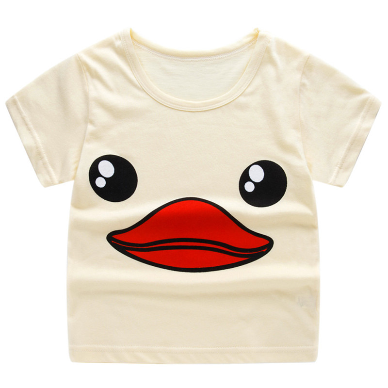 96249fba4 Children Kids Baby Girls Boys Cartoon Print T-shirt Tee Tops Clothes kid  clothes hot A20 ~ Free Delivery June 2019